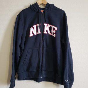 Nike Athletic Dept Embroidered Mens XL Zip Hoodie